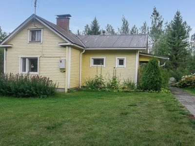 Photo for Vacation home Lomakoti paasirinne b in Toivakka - 4 persons, 1 bedrooms