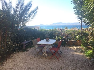 Photo for 3 room apartment 5 minutes from beaches LECQUES with garden sea view