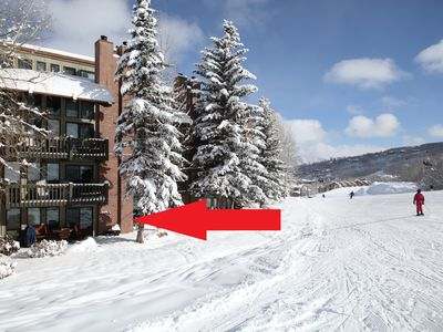 Photo for Great ski in/out 2 bed/bath at the Interlude