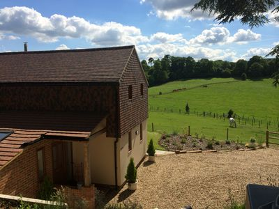 Photo for Rural Luxury Farm Based Cottage in Central Surrey Hills Yet Close to London!