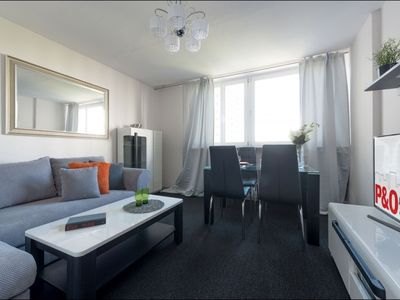 Photo for Prosta apartment in Wola with WiFi, balcony & lift.