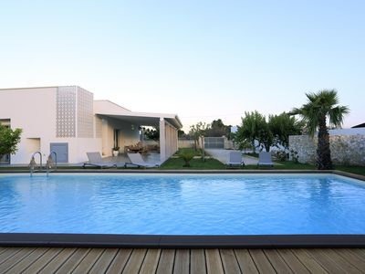 Photo for Villa La Flor apartment in Gallipoli with air conditioning & private terrace.