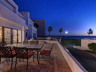 Photo for Beautifully Appointed 2 Bedroom Villa, Huge Ocean View Patio, 24/7 Security!