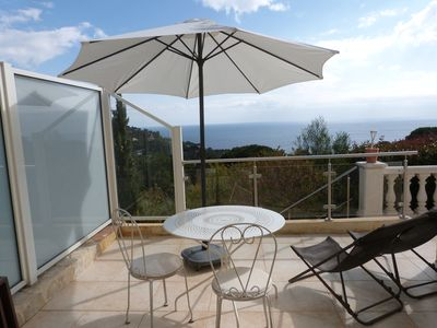 Photo for independant flat -fantastic view over the sea-air conditioned-