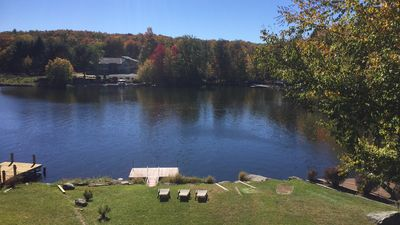 Photo for Lakefront, Gameroom on Roamingwood Lake. Walk to Beach, Pool, and Clubhouse.