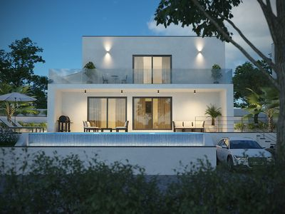 "Photo for Villa Sun Crystal ""190m2""NEW!""Infinity pool""Nature"""