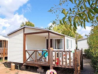 Photo for Camping La Prairie *** - Mobil Home Montana 3 Rooms 4 People
