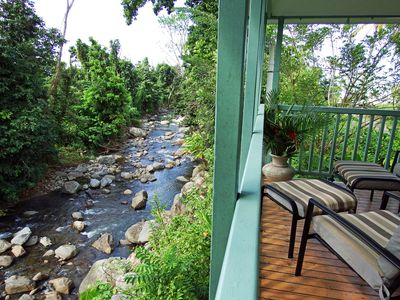 Photo for Quaint Hide-Away House Overlooking Picard River and Nestled Amongst the Trees
