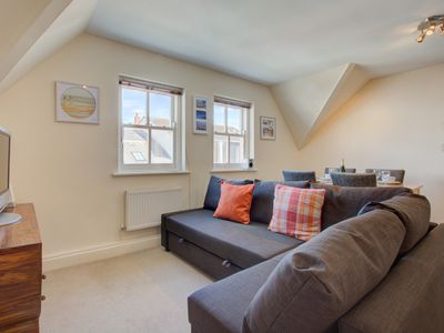 Photo for 'The Top Deck' is a first floor apartment incredibly located on the popular 'Strand' in the heart of