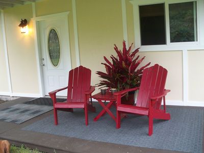 Sit back and relax. Enjoy your private covered deck.