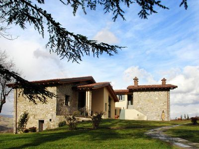 Photo for Former farmhouse in the Apennines with private swimming pool, near ski slopes.