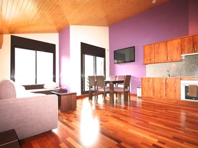 Photo for Penthouse in El Tarter with 3 bedrooms