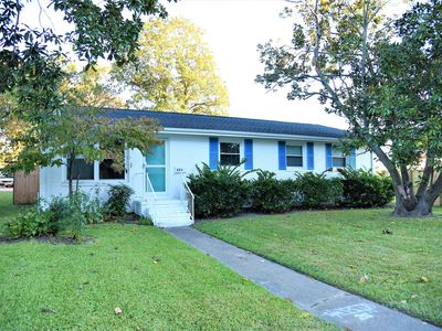 Photo for 5 Bedrooms 3 baths fenced in yard pet friendly only 3 blocks from the Oceanfront