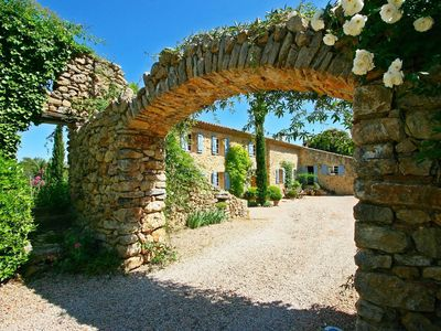 Photo for Beautifully Restored Stone Farmhouse with large pool.