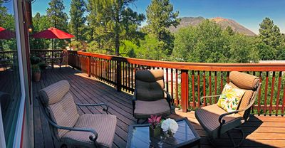 Photo for Mountain View Retreat Close to Downtown Flagstaff, Big Deck, Gorgeous Decor!