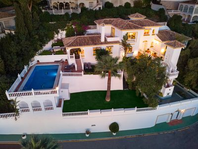 Photo for Large Luxury Family Villa 500m From Beach with Stunning Views