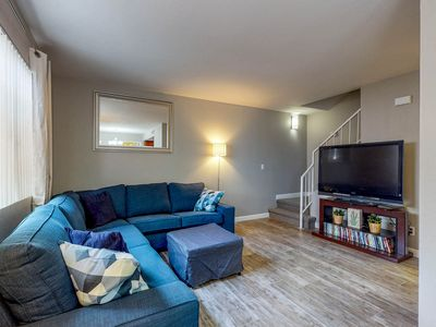 Photo for Dog-friendly condo w/ a furnished patio, shared pool, & hot tub - great location