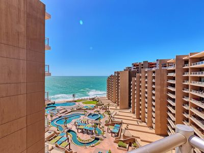 Photo for BIG 3 Bedroom 3 Bath Las Palomas Condo: Wrap-Around Patio, Ocean & Pool Views!