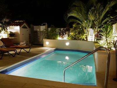 Photo for 3 Bed Villa with Private Patio and Pool, air-conditioned and free wifi.
