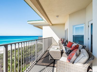 Photo for 30A Gulf Front Top Floor Condo! Unforgettable Beach Views!