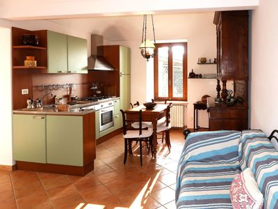 Photo for Lovely apartment for 8 people with WIFI, TV, balcony and parking