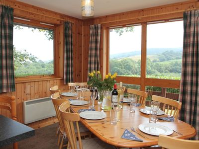 Photo for Four star wheelchair accessible Lodge with four bedrooms and three bathrooms, fabulous views yet clo