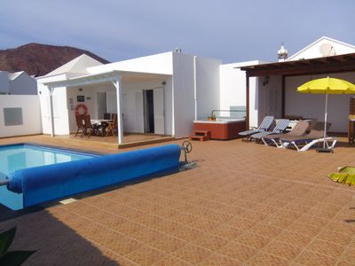 Photo for Sumptuous luxury detached villa on Playa Real Sea View Hot Tub Pool Table