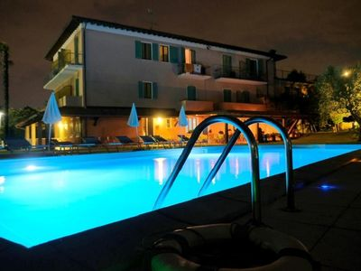 Photo for Molino apartment with pool directly by the Lake - 303