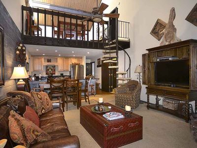 Photo for Newly Remodeled Ski-In/Out Condo w/ Views, Fireplace, Balcony, Pet Friendly