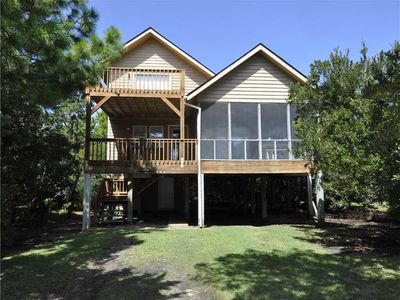 Photo for Tradewinds:  Bright and spacious, decks, lookout and screened porch.