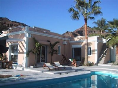 Photo for Villa Tauro, detached with solar / electric heated pool and garden