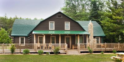 Photo for Magnificent Lodge Nestled Amid the Pines on the Picturesque Au Sable River!