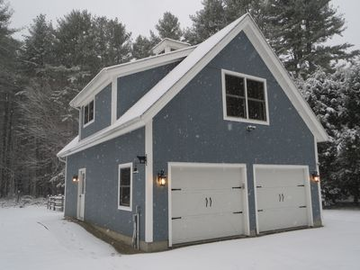 Carriage House in Winter