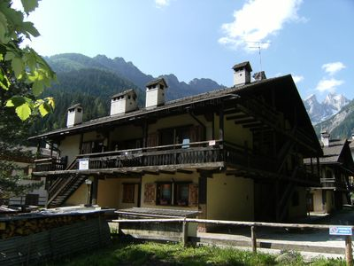 Photo for Romantic chalet 6C in the heart of the Dolomites