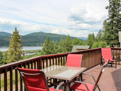 Photo for Outstanding lake & river views, private location - dog-friendly!