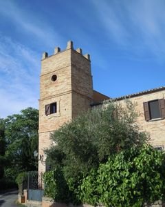 Photo for Tower of the 15th century, with spectacular views of the sea and the mountains