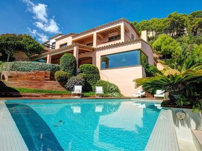 Photo for *** LLAFRANC VILLA *** Luxury 4 Bedroom Villa, Pool, Sea Views, A/C, WiFi, BBQ