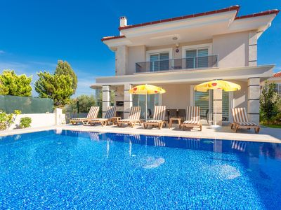 Photo for Villa Ozcelik: Large Private Pool, A/C, WiFi, Car Not Required, Eco-Friendly
