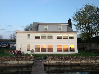 Photo for Spacious 5 Bedroom Home on Conesus Lake