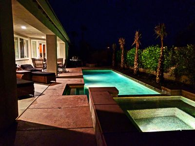 Photo for Lux Private Saltwater Pool/spa Desert Trip 5 Bed