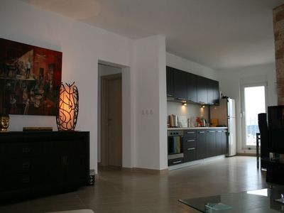 Photo for Luxury Apartment with Pool and and fabulous Sea Views on Ciovo near Trogir