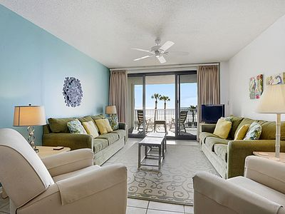 Photo for Windward Pointe 205 | Beachfront 3BD/2BA | 2nd Floor | Walk 2 Beach!