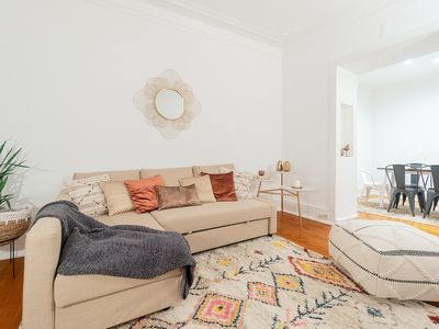 Photo for Charming and Cozy 2 bedroom apartment in Santos