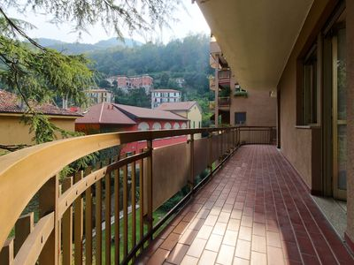 Photo for Stylish flat w/ balcony and views - walk to the lake, ferry & historic center!