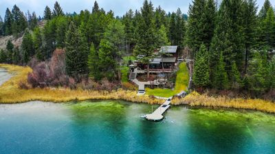 Photo for Private Lake House on 4 acres in Whitefish (near Glacier Park & Whitefish Mtn)!