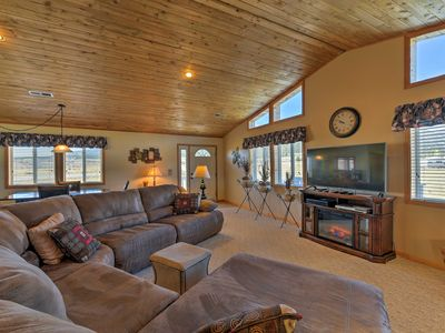 Photo for Spacious Buena Vista Home w/Fire Pit Near Skiing!