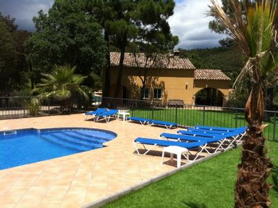 Photo for Self catering Villa Solange Lloret de Mar for 19 people