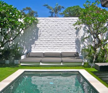 Photo for A Relaxed  Stylish Modern Tropical Haven; 3BR Villa in the Upscale Seminyak Bali