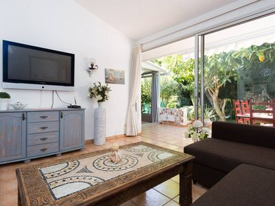 Photo for Bungalow with private garden 300m from the beach