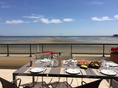 Photo for Luxury apartment for 5 to 7 people, directly at the beach of Benoît